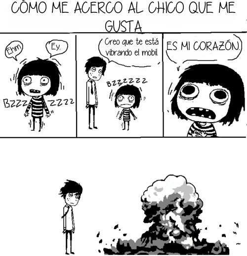 #humor #amor #enamorado #enamorada #pareja #relacion #megusta #chica #chico #explocion #miedo  #nervios #gustar