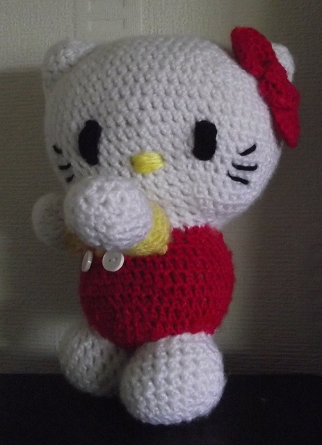 walking Hello Kitty