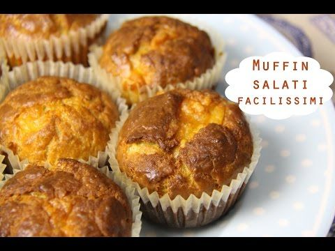 MUFFIN SALATI AL TONNO facilissimi - YouTube