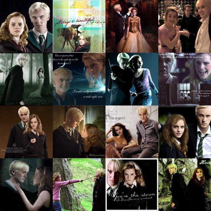 Hermione Granger Are Dragon Malfoy