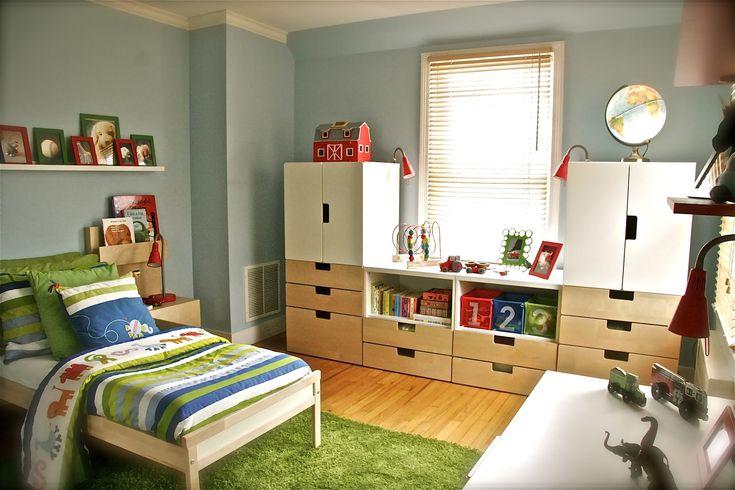 Children's storage - ikea stuva