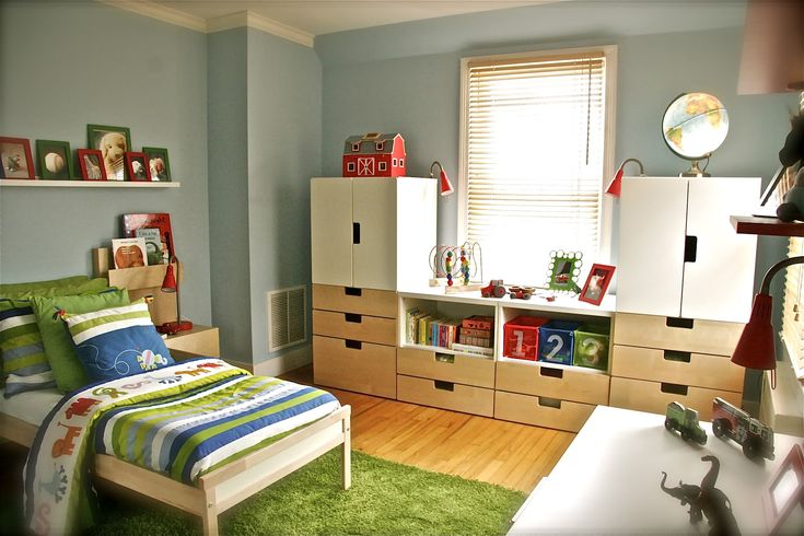 Children 39 s storage ikea stuva iker 39 s room ideas for Kids room makeover