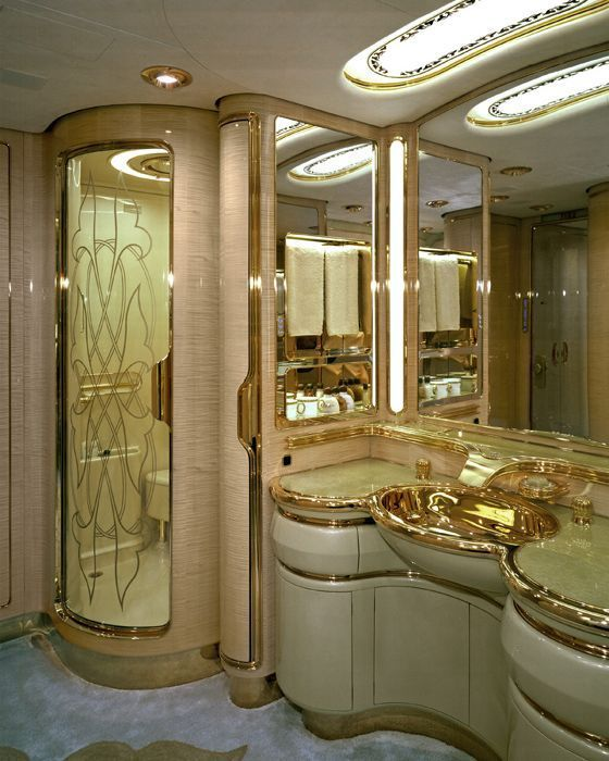 This Is The Most Beautiful Bathroom: Inside The Most Expensive Private Jets