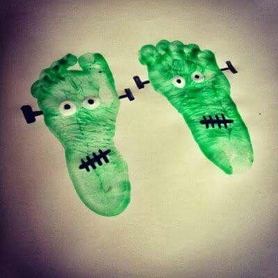 Harvest footprint art