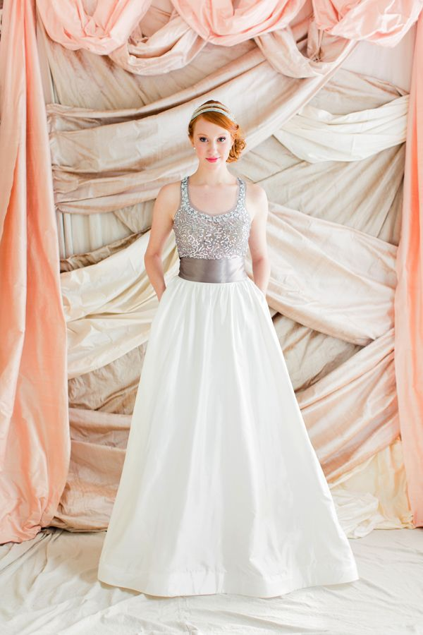Wagener Skirt from the LulaKate Bridal Alternative Collection is sold as a seperate piece featuring a Ball Gown Skirt with Train