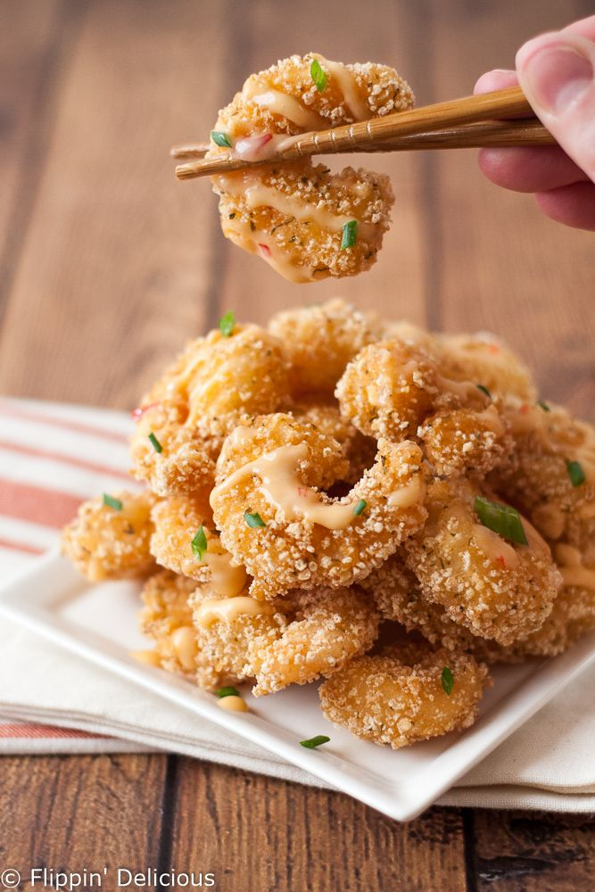 Gluten free bang bang shrimp copycat bonefish grill for Bone fish gril