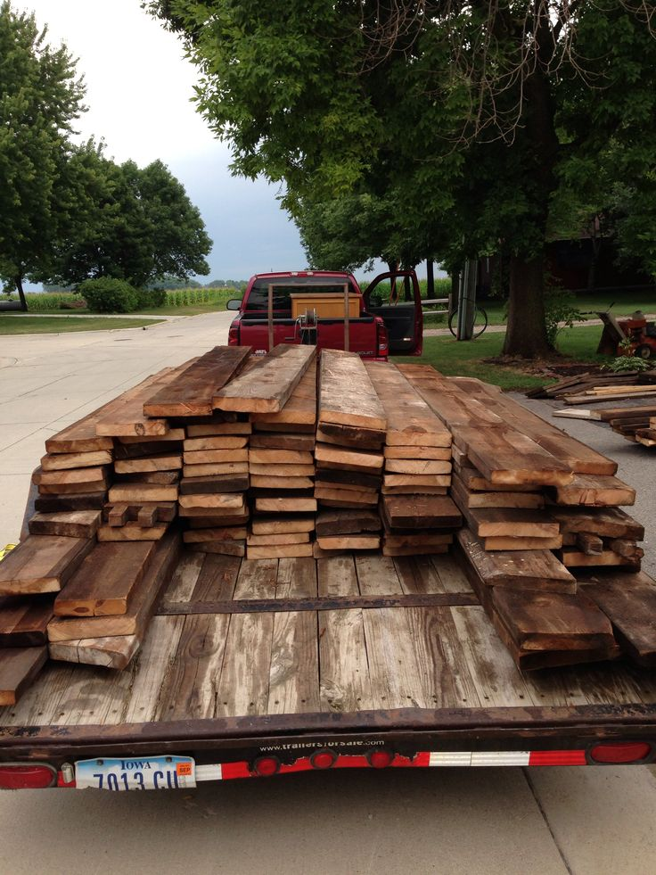 Another Load Of Barn Wood Back Home Safely! Barn WoodChildrenFarmhouse