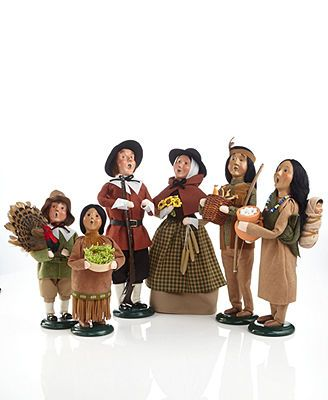 Byers Choice Collectible Figurines Thanksgiving