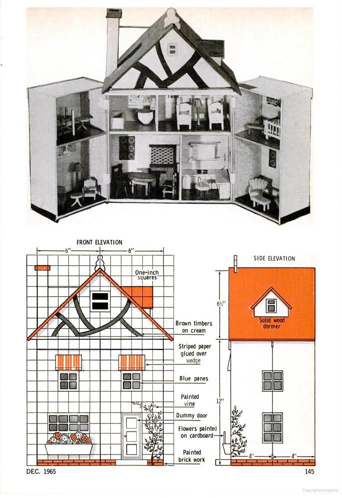 1000 Images About Minis Plans On Pinterest Dollhouse