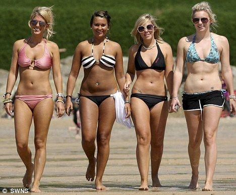 Girls naked beach brighton