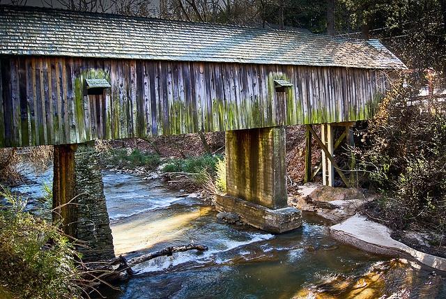Concord Covered Bridge in Smyrna, GA. Beautiful!