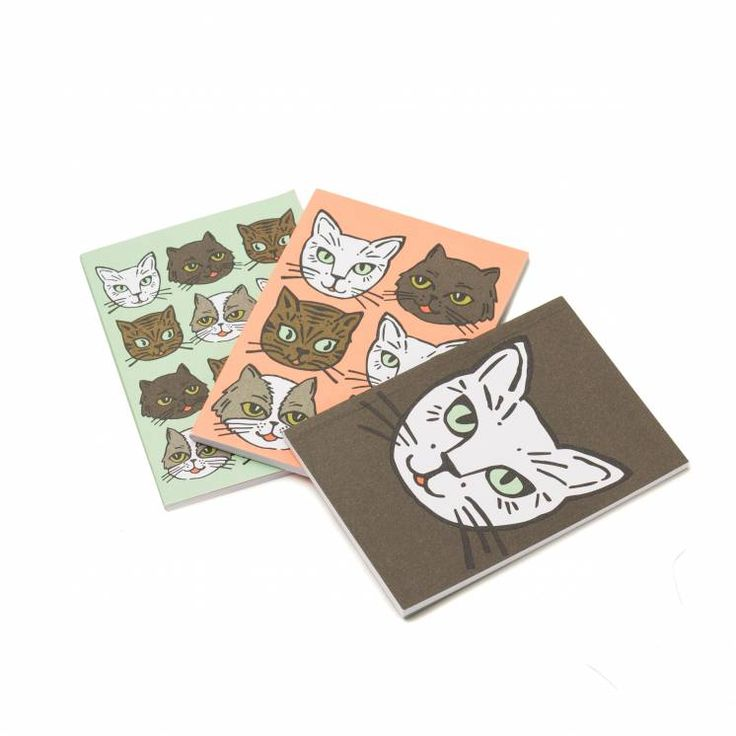 This set of 3 mini notebooks will make sure you're always ready to jot down your kitties demands. You'll never forget to buy more catnip again with these notebooks around!