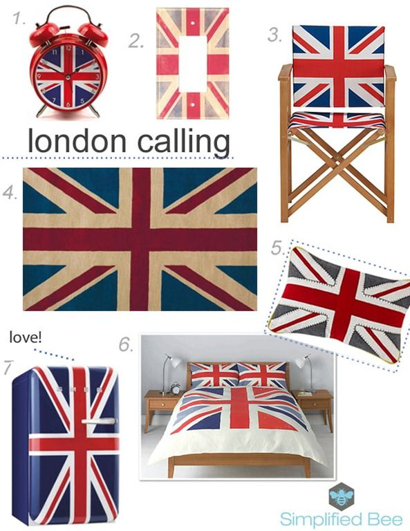 111 best england will always be my home images on pinterest for Decoration murale union jack