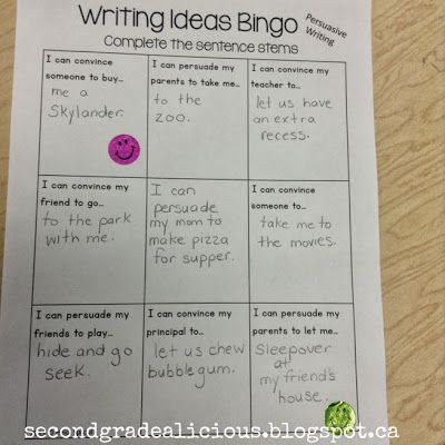 What are some good persuasive writing ideas?