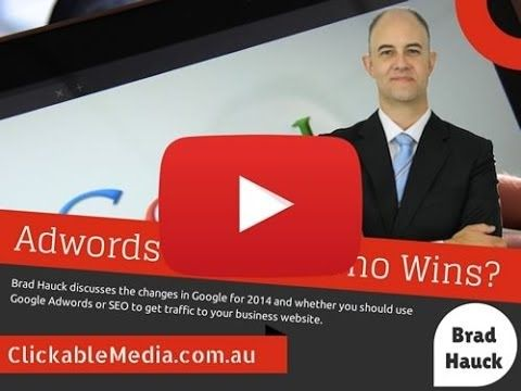 Adwords Vs SEO... Which to choose? Brad Hauck explains the pros and cons