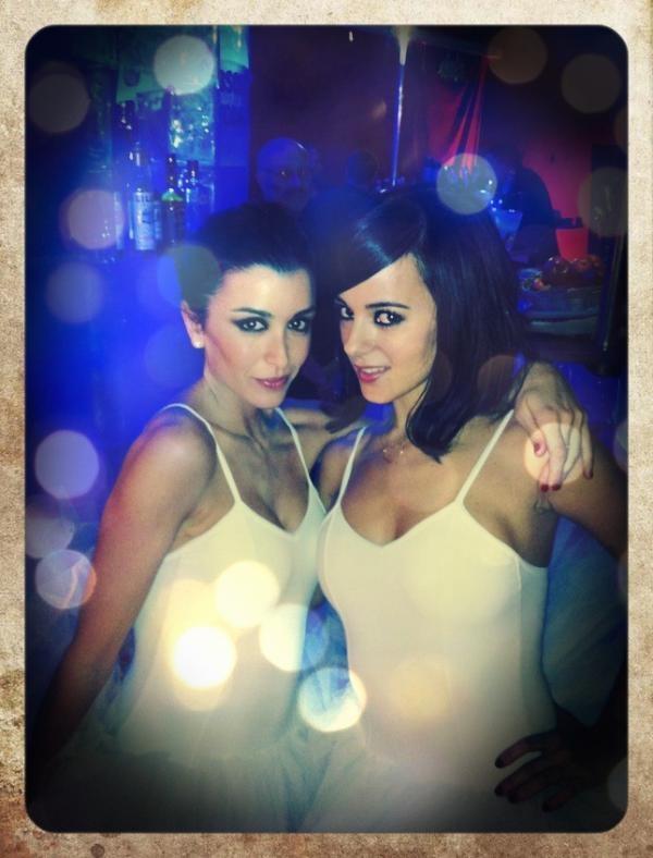 Jenifer and Alizee Les Enfoires 2012