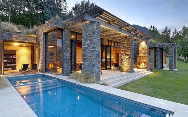 Kohara Lodge, Queenstown, New Zealand, House Holiday Rental