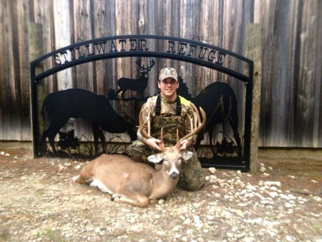 "Congratulations on that 170"" texas whitetail buck"