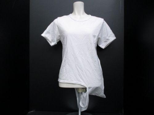 COMMEdesGARCONS(ギャルソン) 半袖Tシャツ レディース 白 変形deformed white t-shirt •...