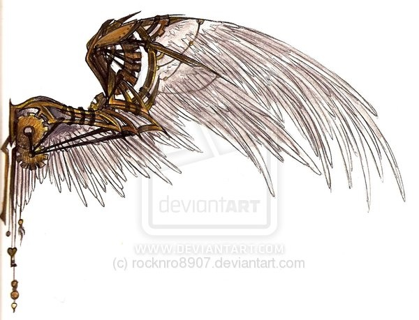 Steampunk Wings... hrmmmm