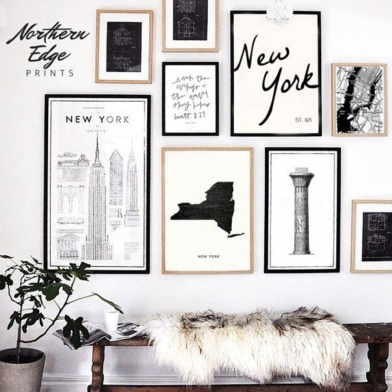 Illinois Map, Printable Art, United States Print, Printable US, Loft Style Wall Collage, Wedding gif