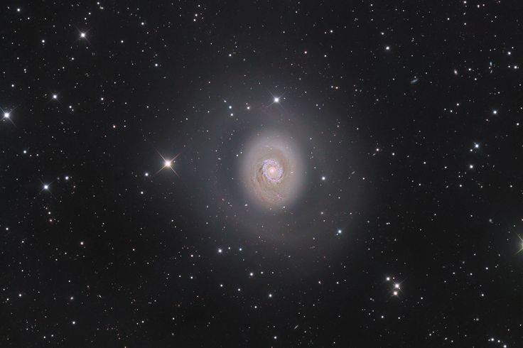 Winner of the galaxy category. The photo shows the distant spiral galaxy Messier 94, which was discovered way back in 1781. Photo: Nicolas Outters.