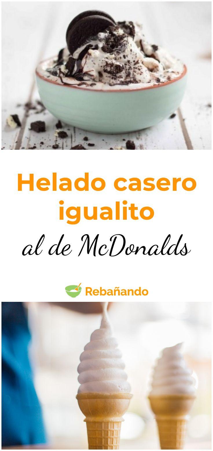 Cómo hacer helados como McDonalds en casa. # helado # caja de helado #postres …   – ¡Repostería!