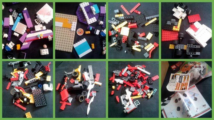 KLOCKI LEGO MIESZANKA dużo
