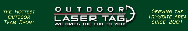 Outdoor Laser Tag USA, The Hottest Outdoor Team Sport Party, New Jersey and New York