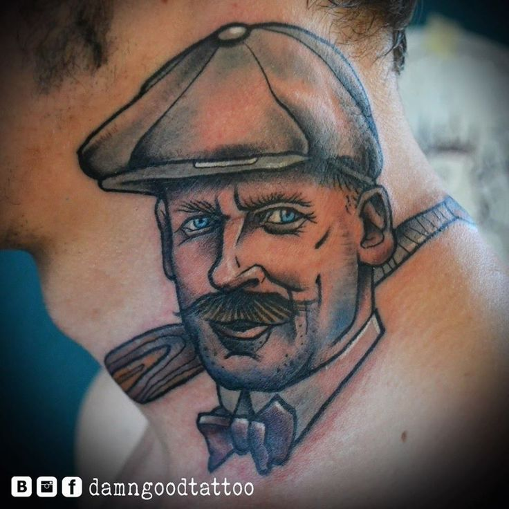 Redberry Tattoo Studio Wrocław #borislav_razor #oldicontattoo #traditionaltattoo #neotradtattoo #damngoodtattoo #tattoo #inked #ink #wroclaw #warszawa #tatuaz #gdansk #redberry #katowice #berlin #poland #krakow #kraków #boryslav #dementiev #razor #portrait #man #vintage