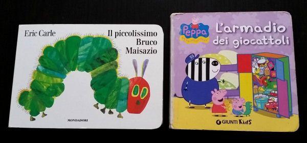 Libri di letteratura per l'infanzia e libri commerciali. Differenze. Il piccolo Bruco Maisazio vs Peppa Pig - 01