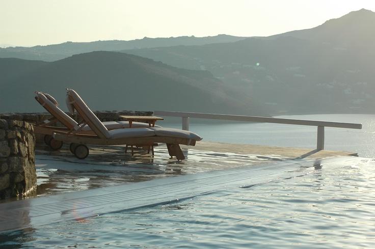 Mykonos villa Exteriors Photos | Luxury villa for rent in Mykonos | Mykonos Exclusive Villa