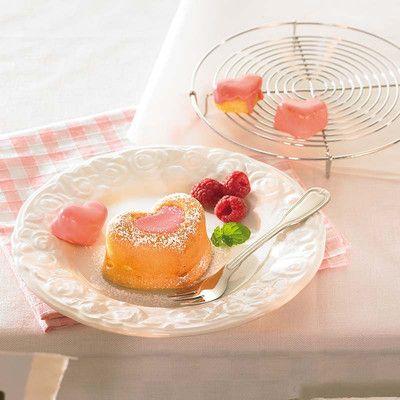 Foremki silikonowe do muffinów serca Birkmann 4 szt. Zobacz więcej na mykitchen.pl