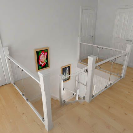 Stairfurb Provides Unrivalled Value For DIY Enthusiasts Wanting To Refurbish  Their Staircase With Glass Balustrades, Replace Old Bannisters With Modern  ...