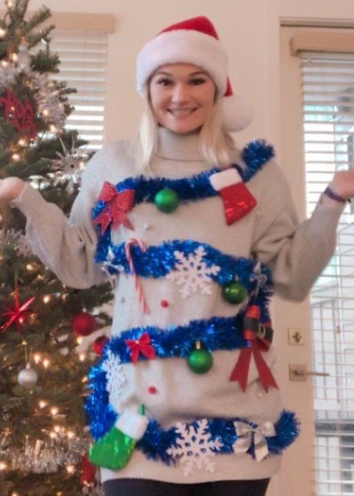Womens Ugly Christmas Sweater Dress.Pin On Etsy Group Board