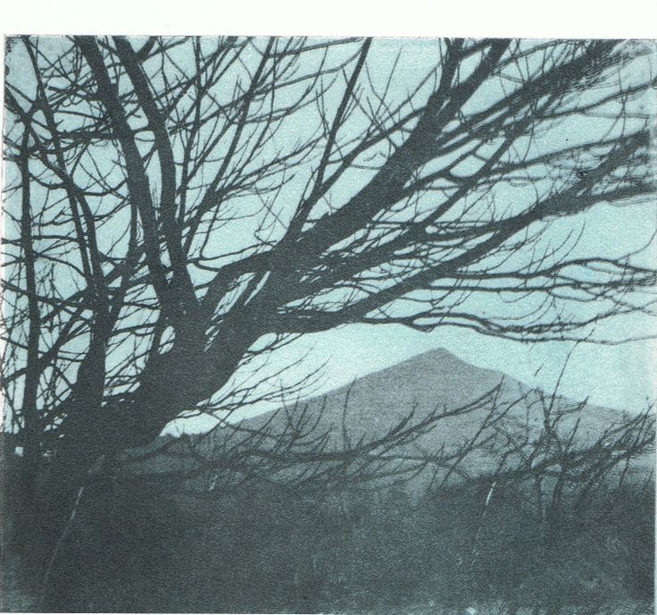 Photo etching of Sugar Loaf, Wicklow, Co Wicklow