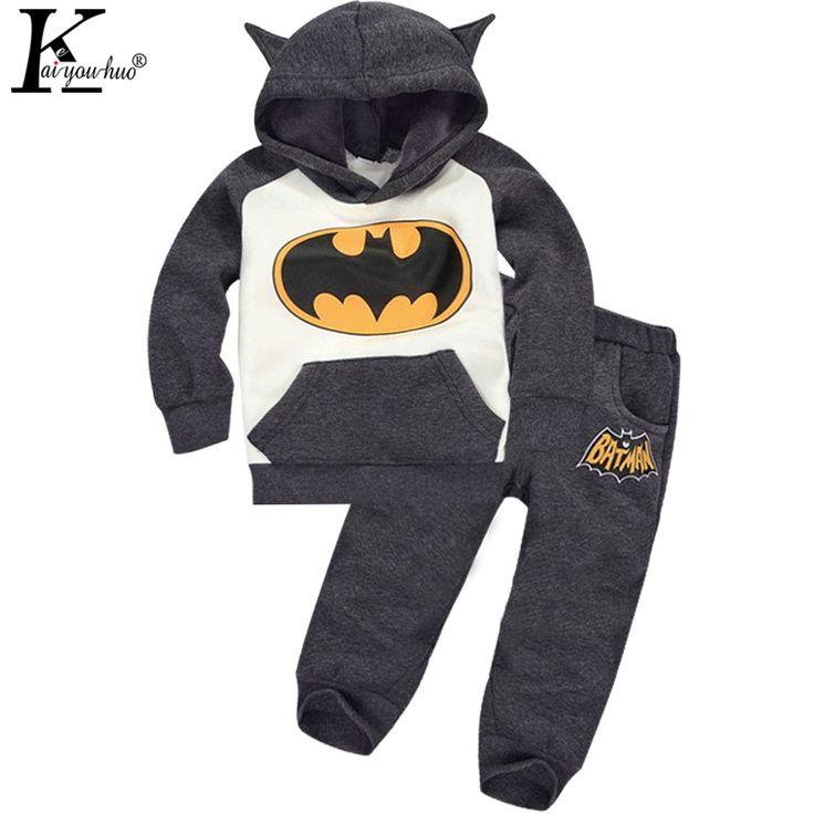 $8.69 (Buy here: https://alitems.com/g/1e8d114494ebda23ff8b16525dc3e8/?i=5&ulp=https%3A%2F%2Fwww.aliexpress.com%2Fitem%2FFall-2015-new-boy-batman-suit-children-s-cartoon-modelling-suits-with-velvet-suit-children-Children%2F32456302161.html ) 2017 Autumn Baby Girls Clothes Batman Costume For Kids Boys Clothes Velvet Suits Cartoon Children's Clothing Boy Sets Sport Suit for just $8.69