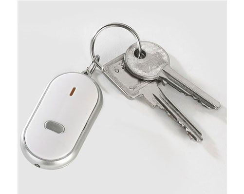 A friend of mine lost his keys and struggled to find them. To save yourself the same fate try this Whistle Key Finder!