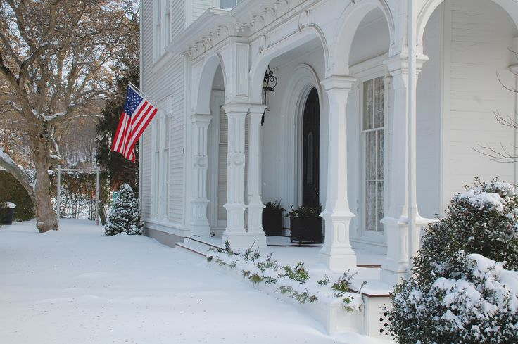 Travel to a New England Winter Getaway - Boardman House Inn, a Connecticut Bed and Breakfast.