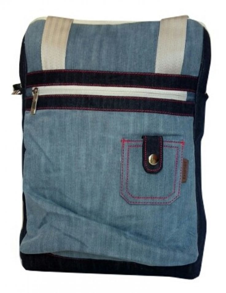 EXSPORT Denim Frame Tas Laptop Multifungsi