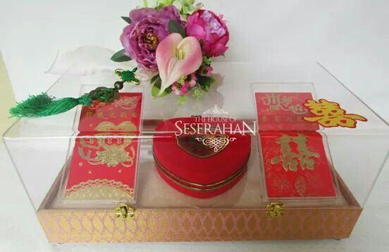 #thehouseofseserahan #sangjit #chinesewedding #seserahan #giftbox