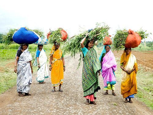 Rural Women, Kudachi, Karnataka