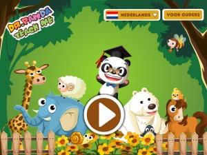 Dr. Panda, Leer het me!    Wat leert je kind van deze educatieve app:    Tellen  Vormen  Maten  Kleuren  Vergelijken  Doelgroep:    Kinderen van 2 tot 5 jaar.