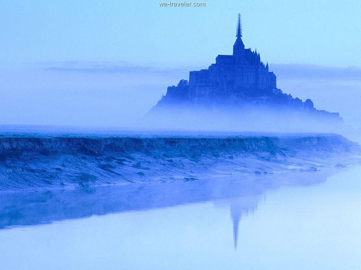 Mont St Michel At Dawn Normandy France Jpg 1600 1200 Lugares Para Visitar Monte Saint Michel Lugares Hermosos