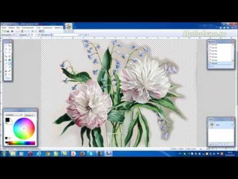 Как легко вырезать фон - новые возможности Paint.Net._How easy to cut background - new opportunities Paint.Net
