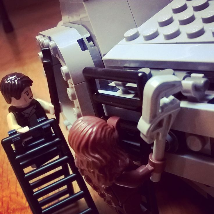 Han & Chewie #Legostarwars