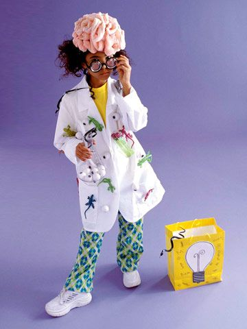 We're mad for this creative kids' costume come Halloween: http://www.bhg.com/halloween/kids-costumes/easy-to-make-kids-costumes/?socsrc=bhgpin093014madscientistcostume&page=8