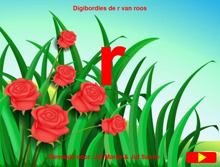 De r van roos