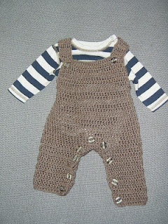 Crochet Pattern For Owl Baby Bunting : Baby Overalls Crochet Pattern Crochet Pinterest Baby ...