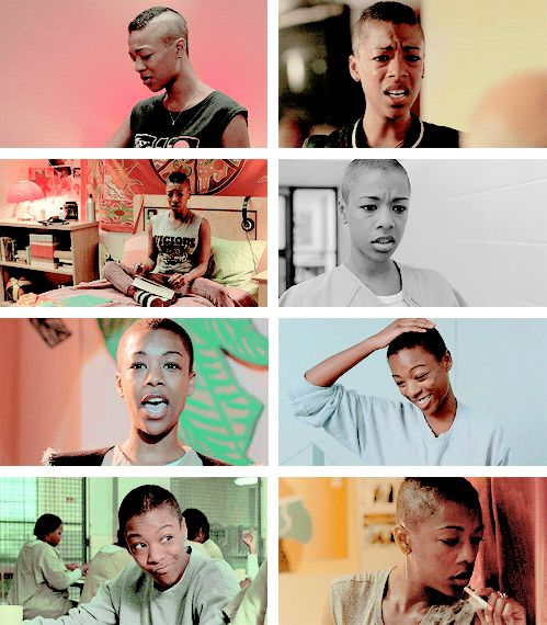 """My name is Poussey! Accent à droite, bitch."" // Orange is the New Black"